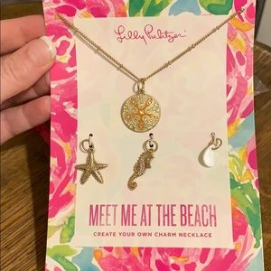Lilly Pulitzer Meet Me at the Beach Necklace